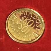 840 GRADE 4 GRAM GOLD TOKEN - BOXED & IN GREAT CONDITION