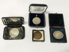 COLLECTION OF FOUR MEDALS