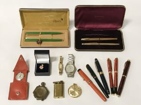 PENS/ LIGHTERS/ WATCHES