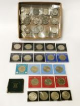 COLLECTION OF CROWNS - SOME VICTORIAN