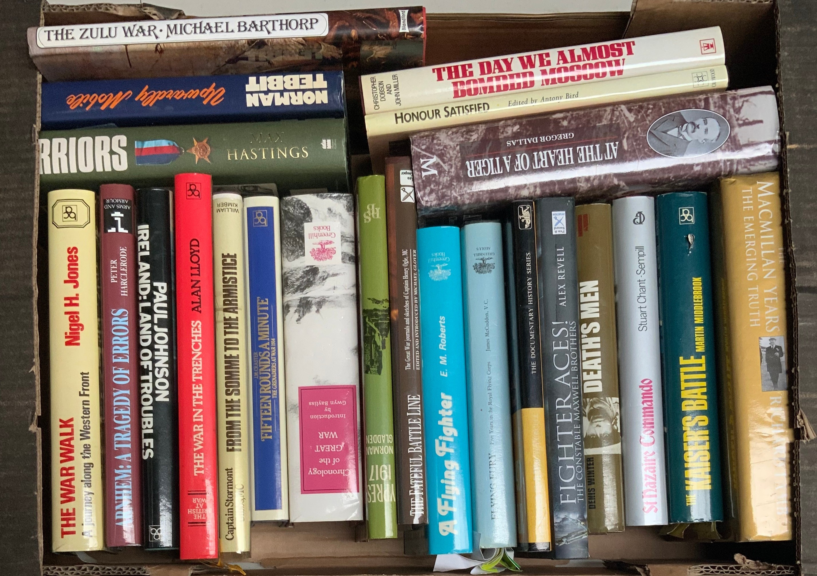 SELECTION OF VARIOUS BOOKS (SOME MILITARY RELATED)