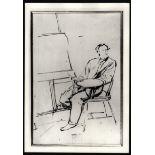 PHOTOGRAPH OF J.E. MILLAIS PICTURE FOR NATIONAL PORTRAIT GALLERY LONDON
