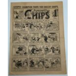 1927 CHIPS THE CHAMPION COMIC