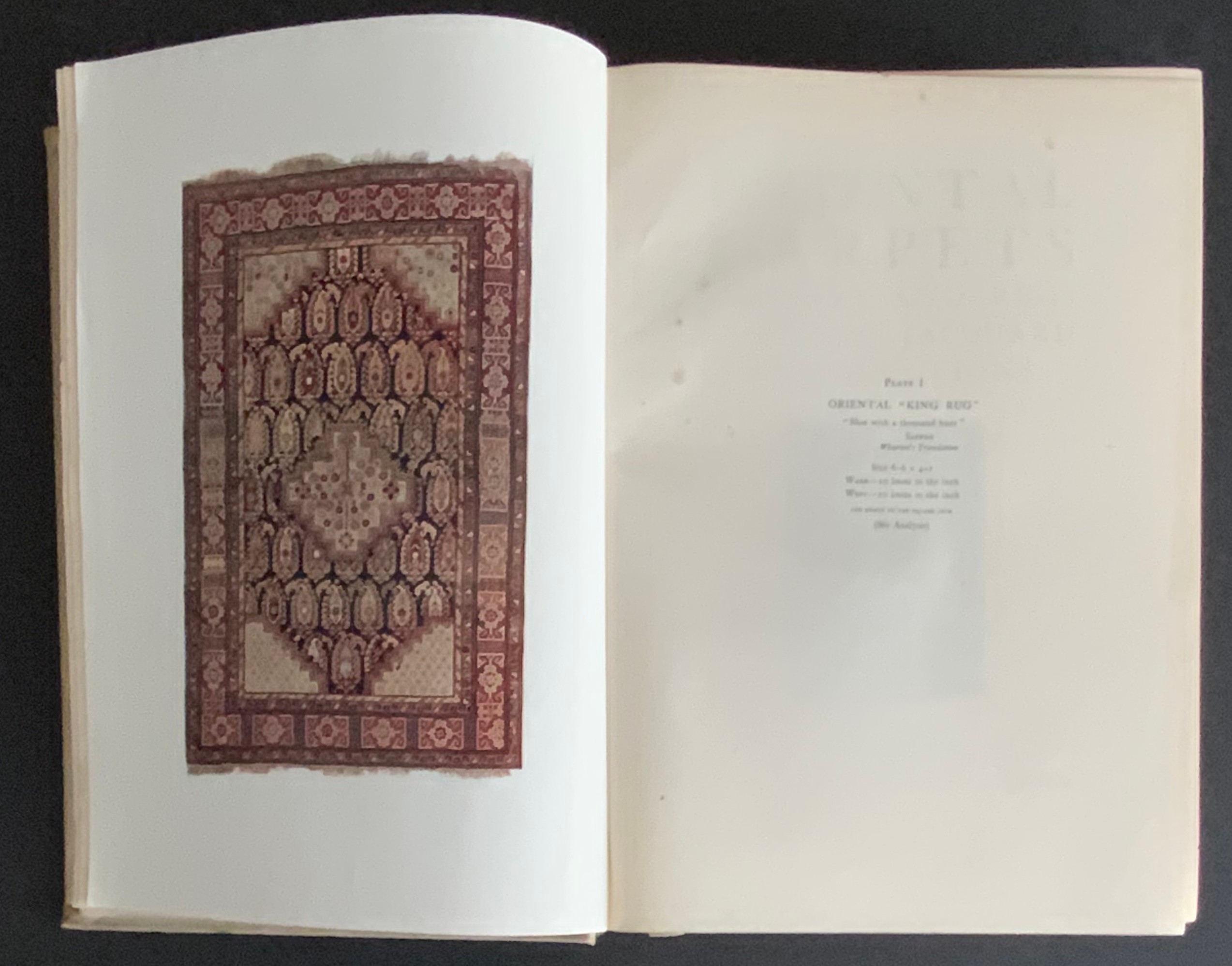 ORIENTAL CARPETS RUNNERS & RUGS AND SOME JACQUARD REPRODUCTIONS 1910 - Image 3 of 12