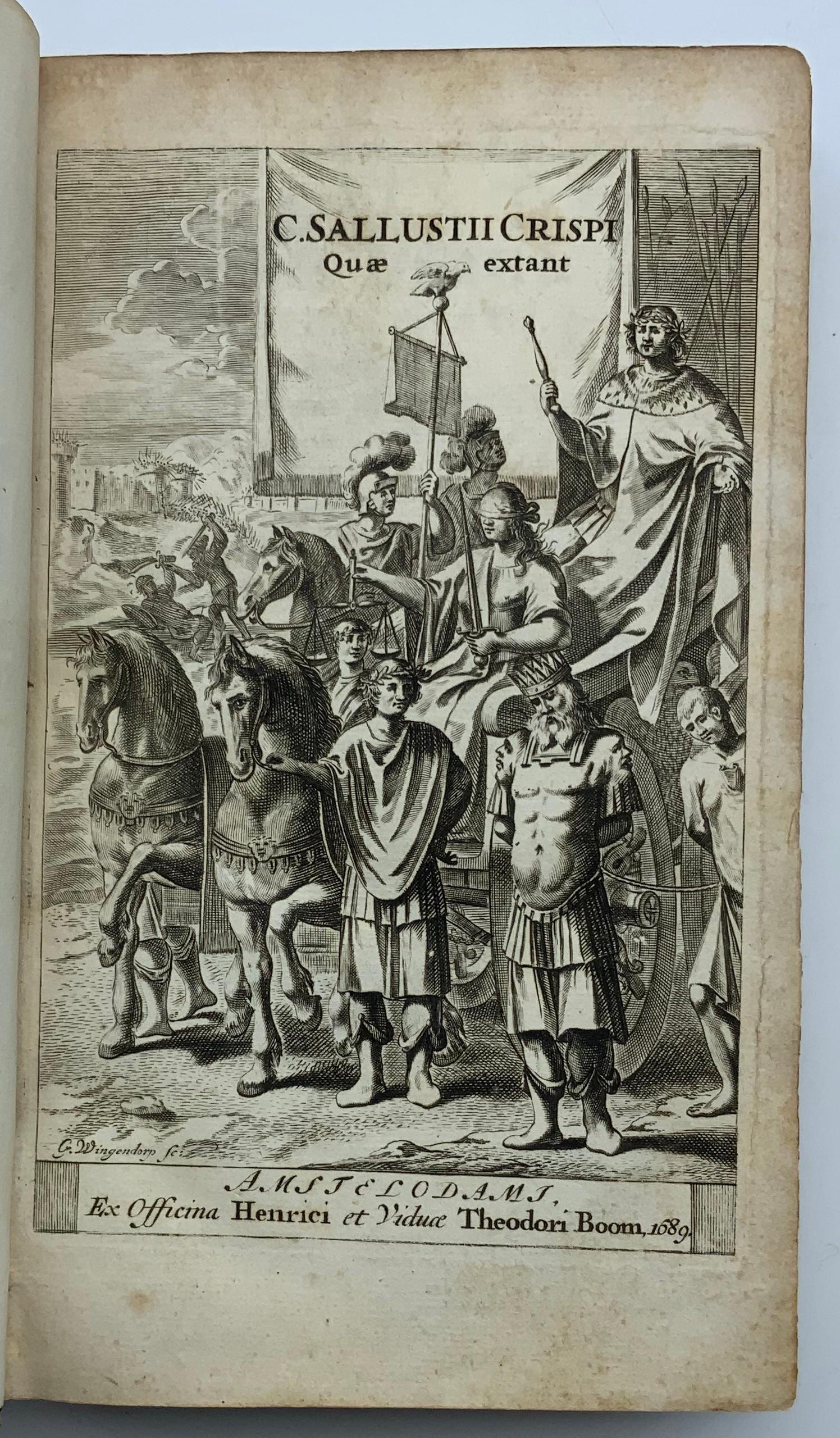 1690 C. CRISPI - SALULUSTII - Image 3 of 6