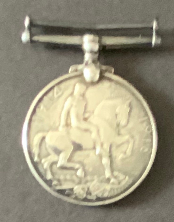 WW1 BRITISH WAR MEDAL 54-161661 PRIVATE H. BOURNE A.S.C. - Image 2 of 2