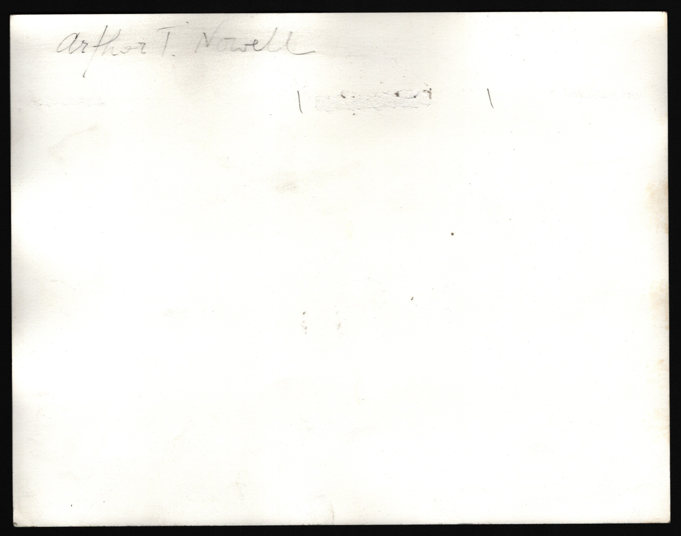 PHOTOGRAPH OF ARTHUR T. NOWELL - Image 2 of 2