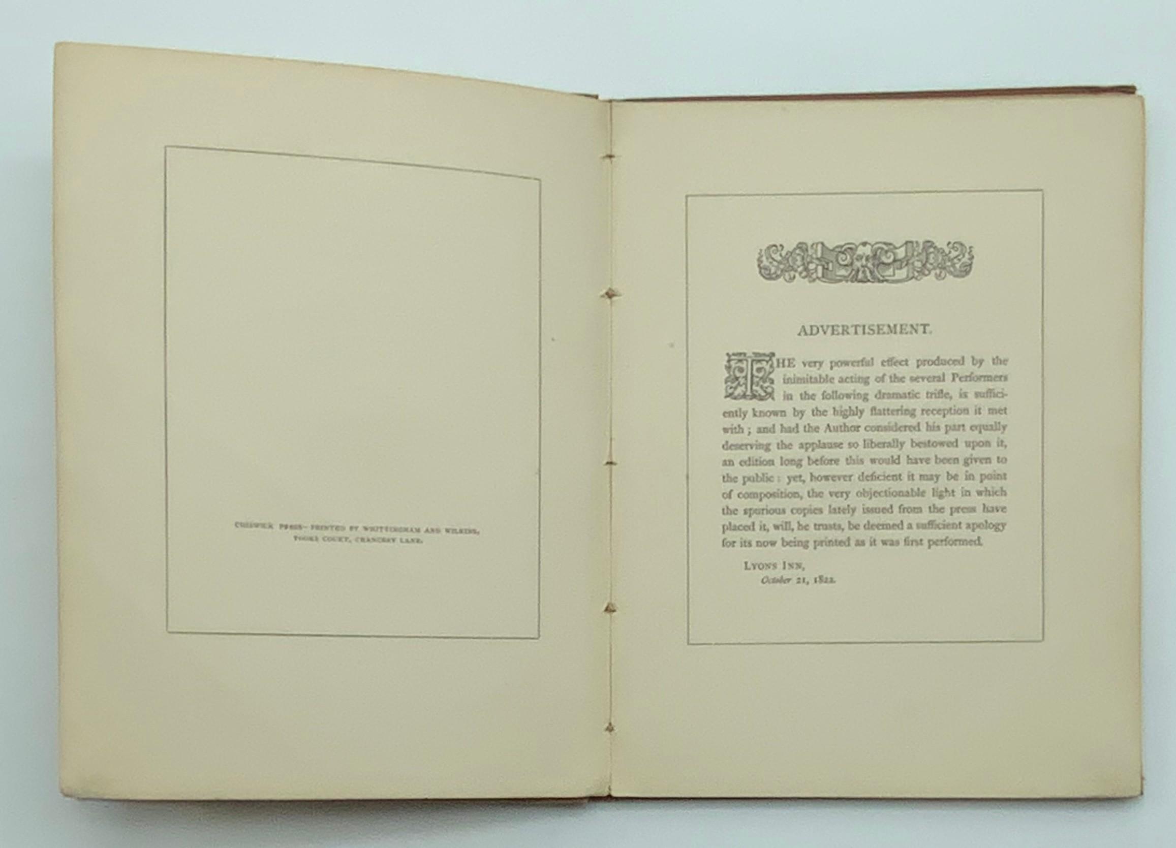 1873 BOMBASTES FURIOSO ILLUSTRATED BY GEORGE CRUIKSHANK - Image 4 of 5