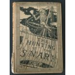 1876 THE HUNTING OF THE SNARK BY LEWIS CARROLL
