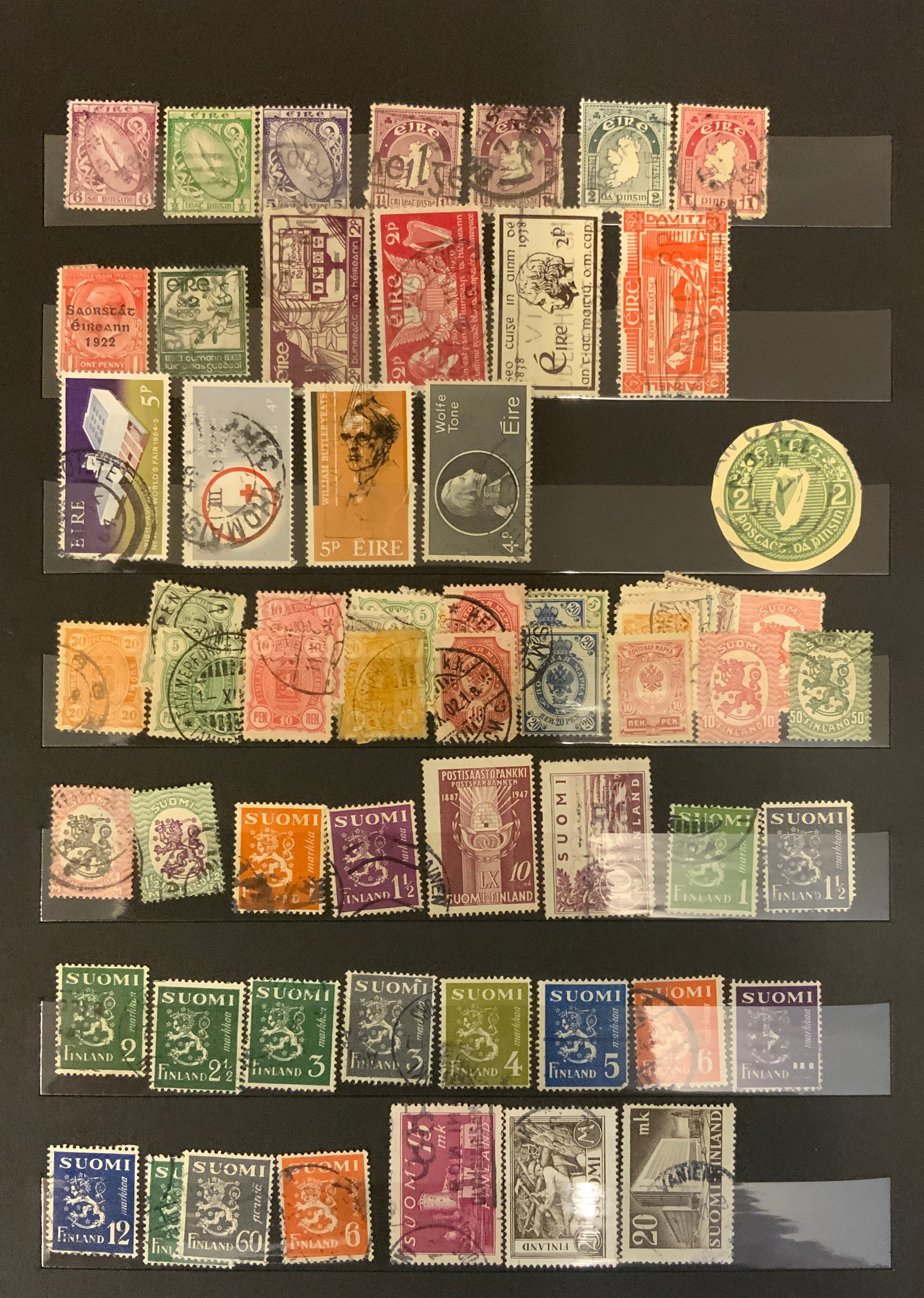 STOCKBOOK WITH STAMPS FROM VARIOUS COUNTRIES INCLUDING AUSTRIA, BELGIUM, FRANCE - Image 3 of 16