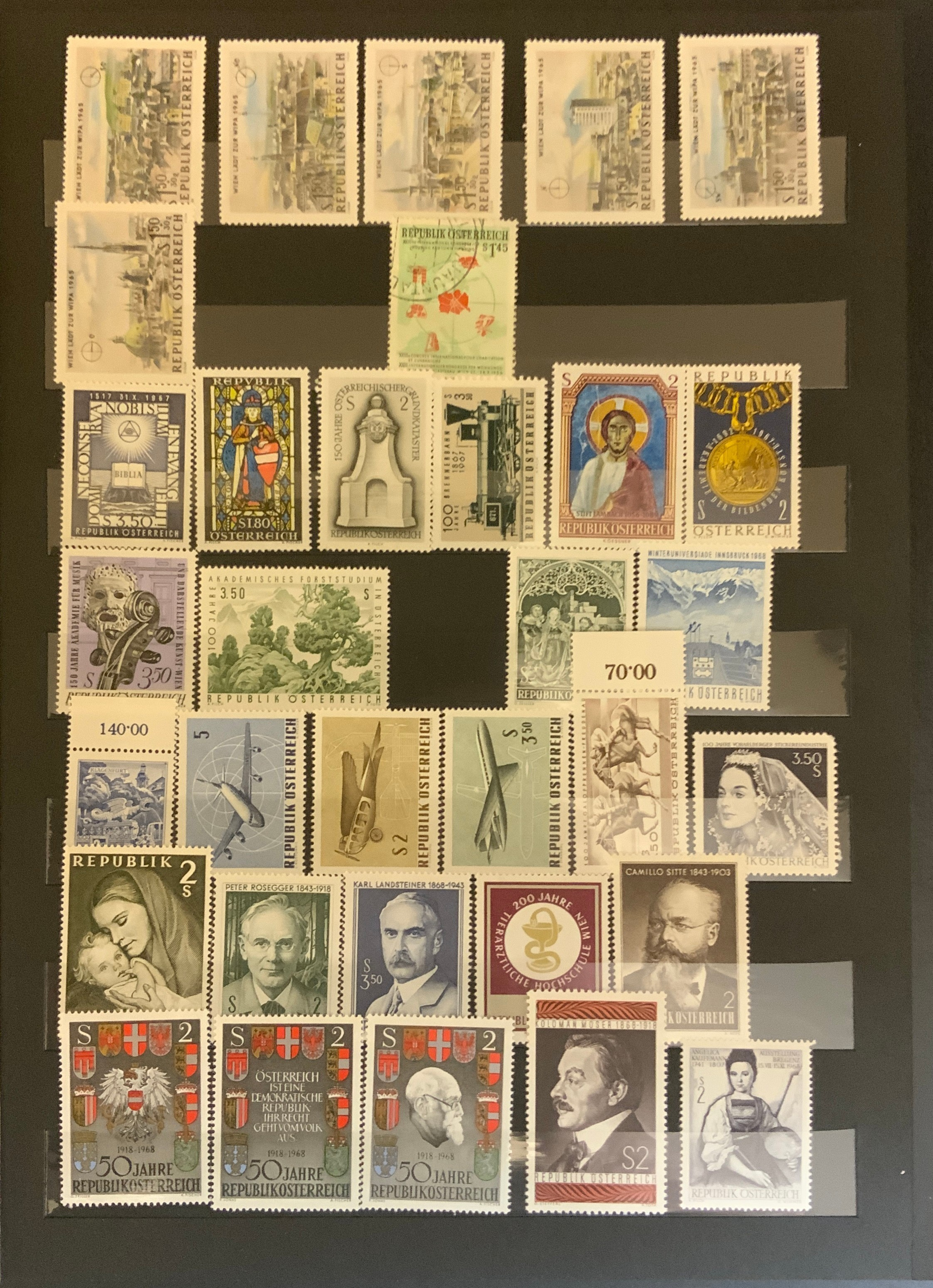 STOCKBOOK WITH STAMPS FROM VARIOUS COUNTRIES INCLUDING AUSTRIA, BELGIUM, FRANCE - Image 13 of 16