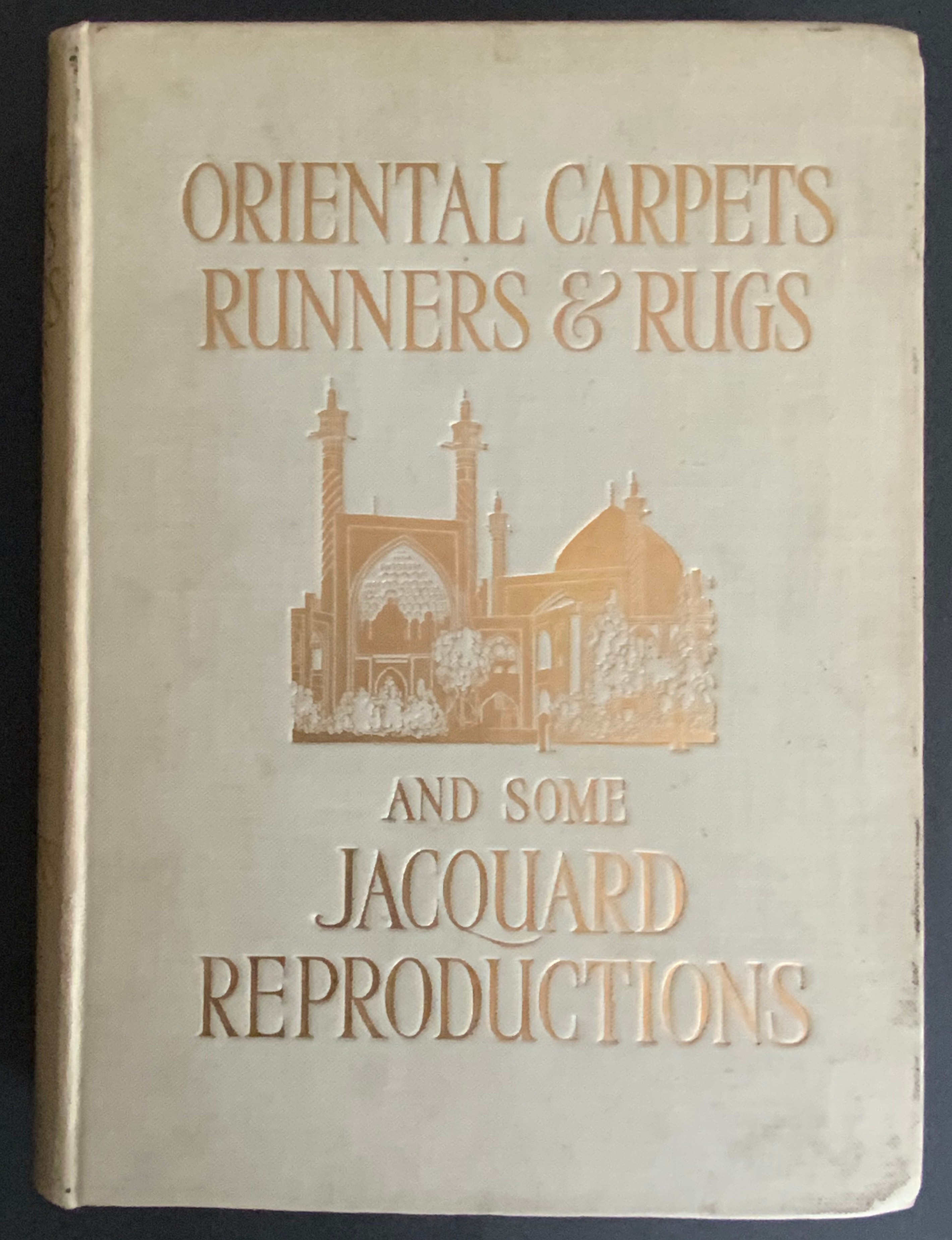ORIENTAL CARPETS RUNNERS & RUGS AND SOME JACQUARD REPRODUCTIONS 1910