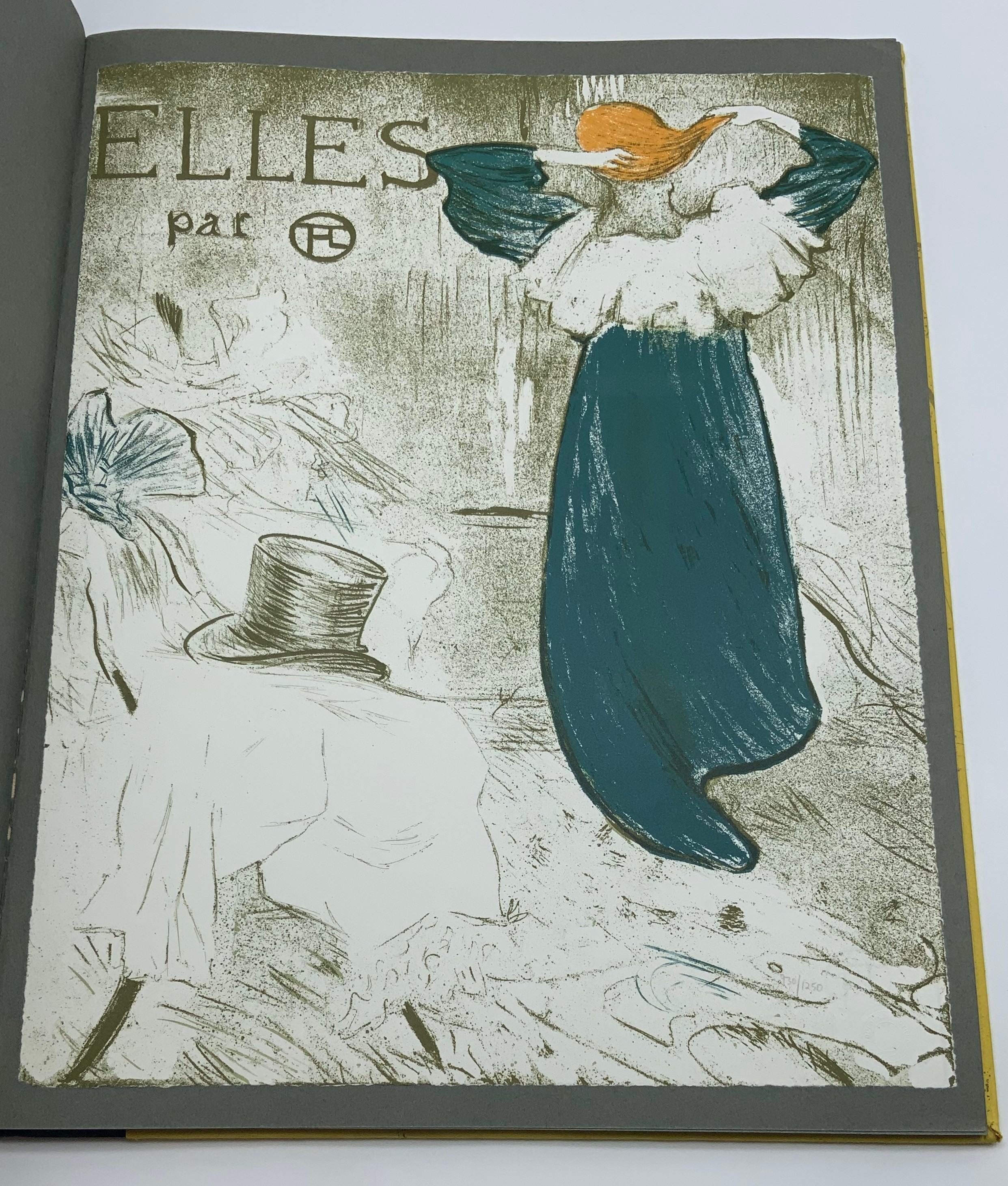 ELLES THE TOULOUSE-LAUTREC CIRCLE, 1969 HARDCOVER 1ST EDITION LIMITED EDITION - Image 2 of 6