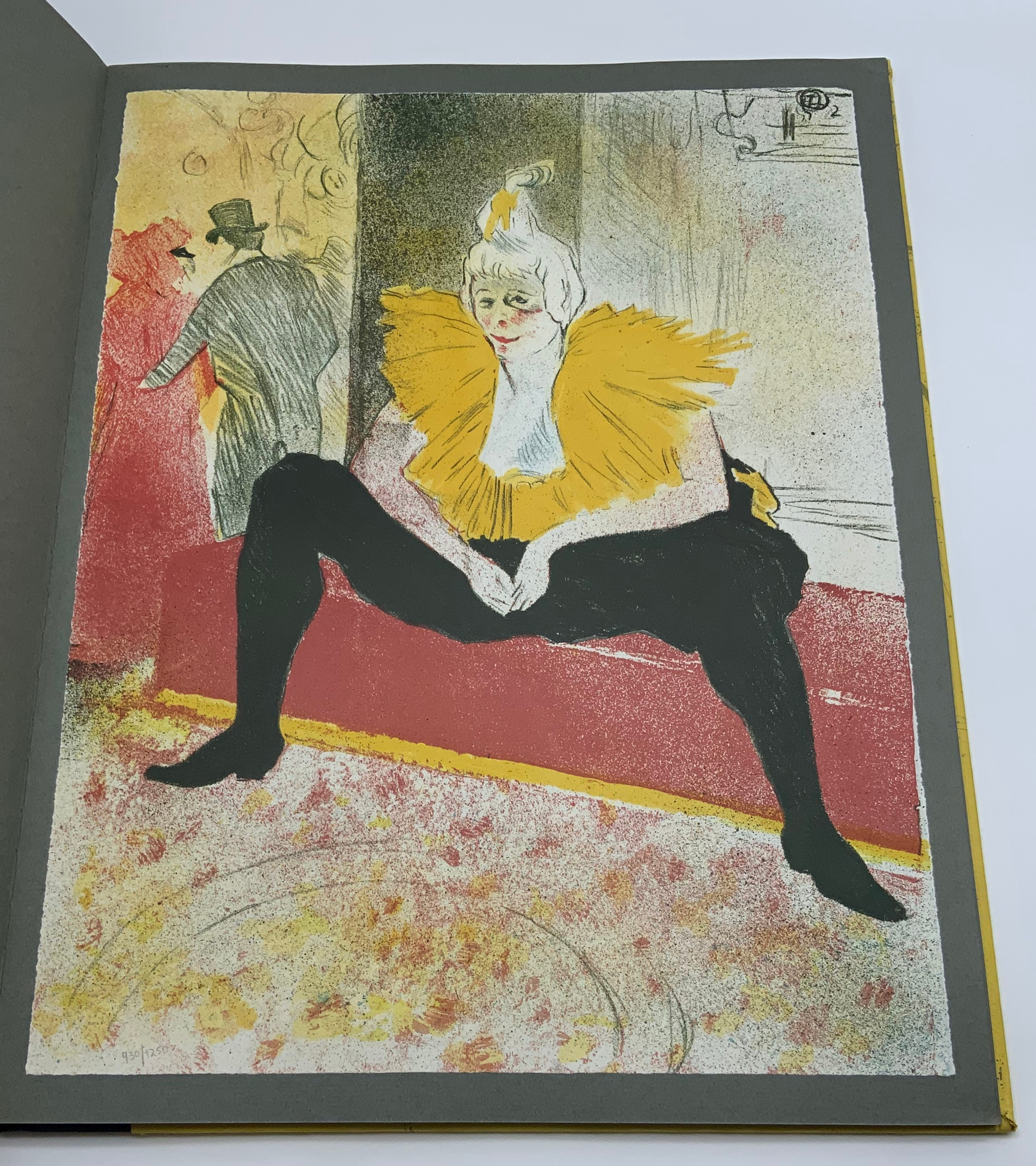 ELLES THE TOULOUSE-LAUTREC CIRCLE, 1969 HARDCOVER 1ST EDITION LIMITED EDITION