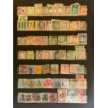STOCKBOOK WITH STAMPS FROM VARIOUS COUNTRIES INCLUDING GERMANY, ITALY