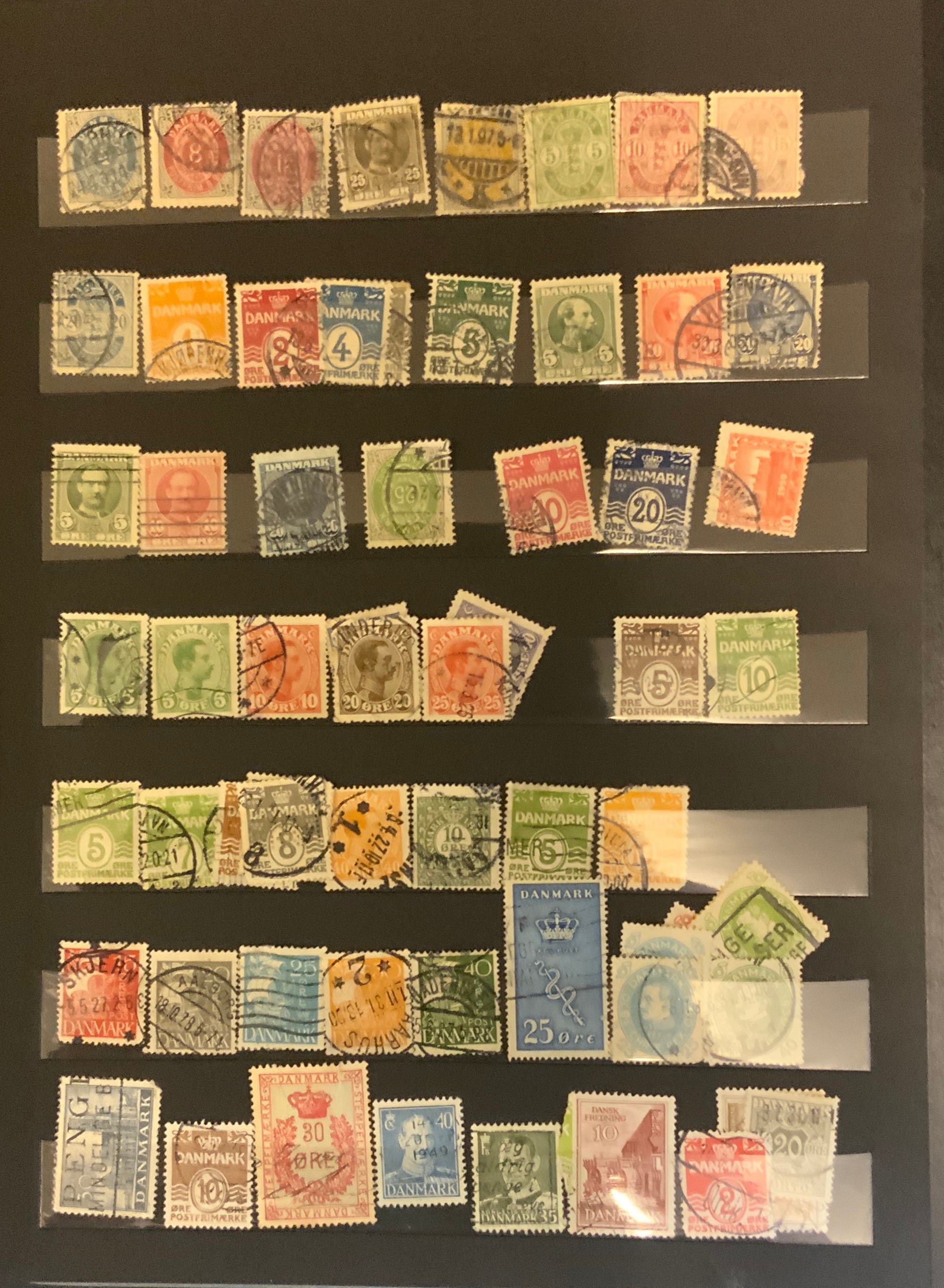 STOCKBOOK WITH STAMPS FROM VARIOUS COUNTRIES INCLUDING AUSTRIA, BELGIUM, FRANCE - Image 4 of 16