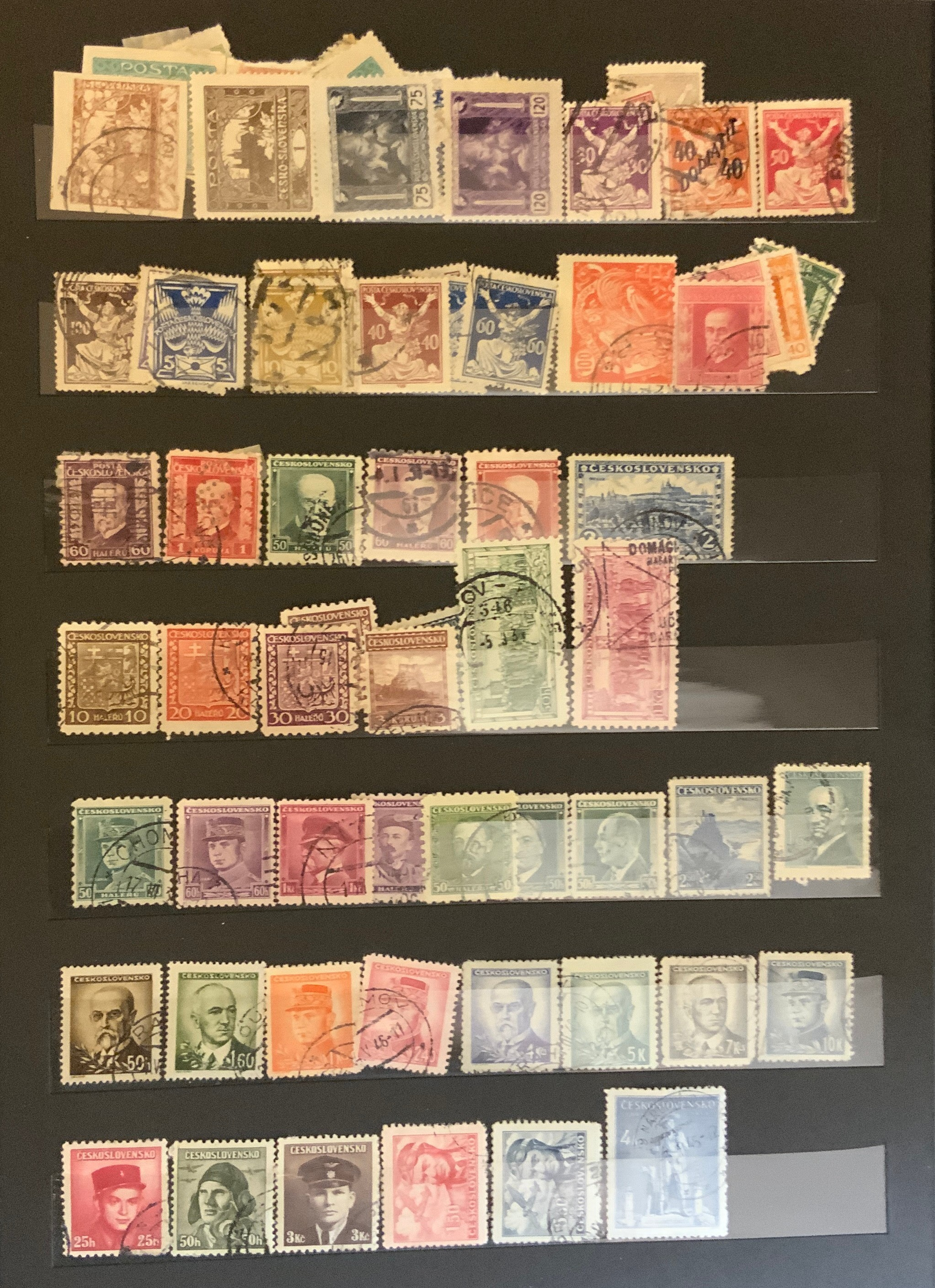 STOCKBOOK WITH STAMPS FROM VARIOUS COUNTRIES INCLUDING AUSTRIA, BELGIUM, FRANCE - Image 6 of 16