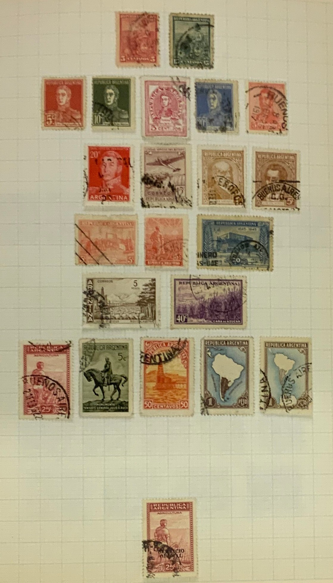SELECTION OF VARIOUS STAMPS