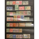 STOCKBOOK WITH STAMPS FROM VARIOUS COUNTRIES (COMMONWEALTH)