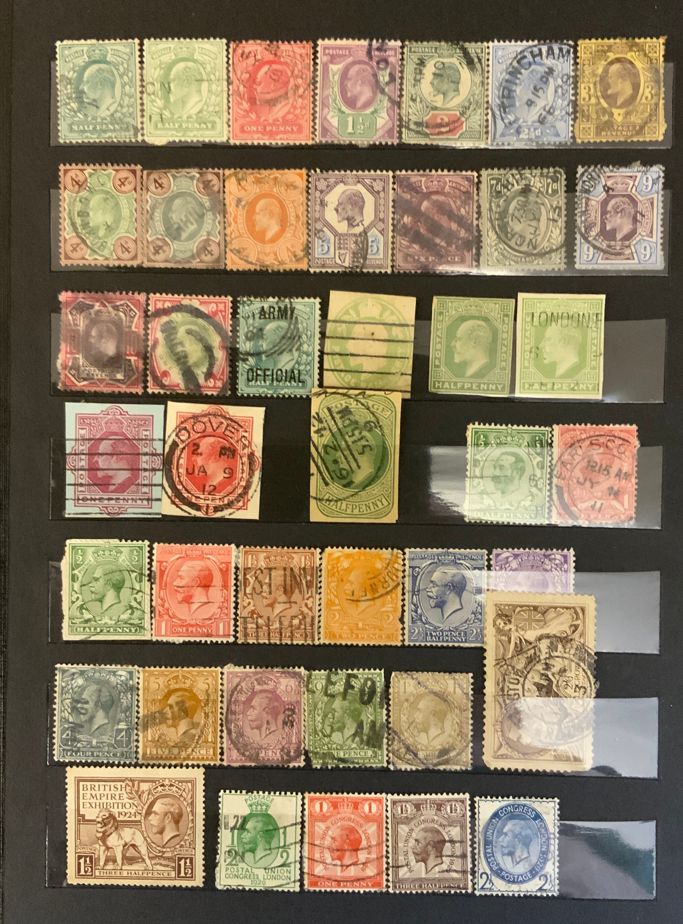 STOCKBOOK WITH BRITISH STAMPS - Image 2 of 2