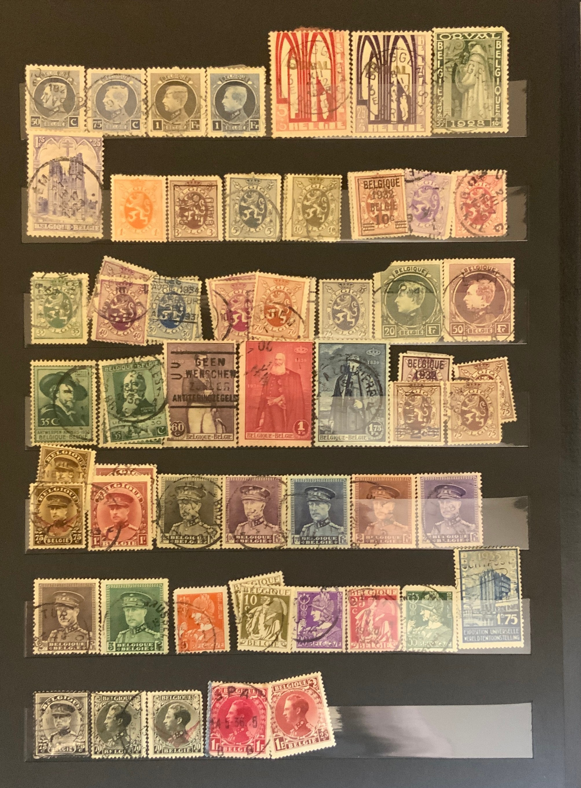 STOCKBOOK WITH STAMPS FROM VARIOUS COUNTRIES INCLUDING AUSTRIA, BELGIUM, FRANCE - Image 10 of 16