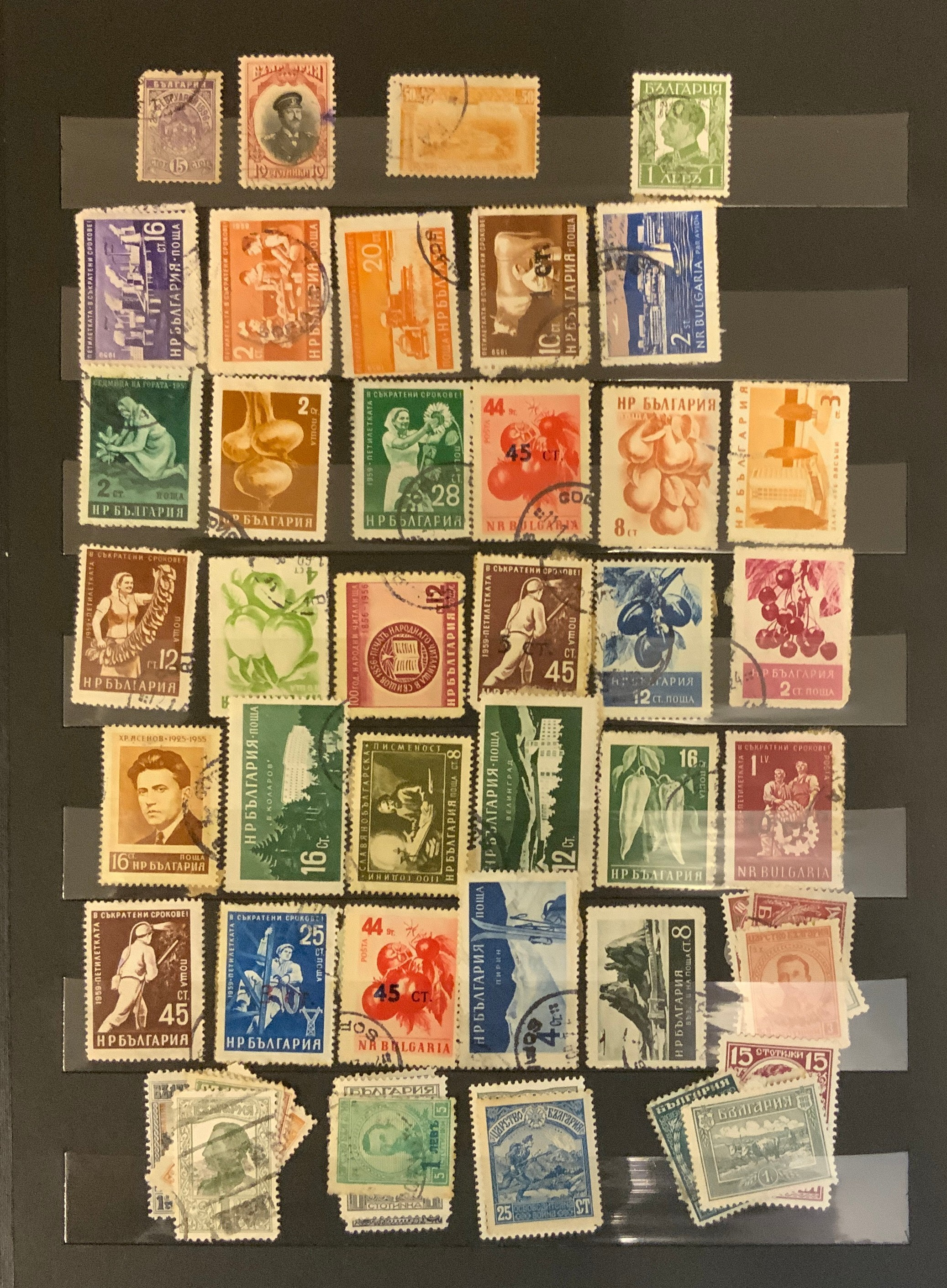 STOCKBOOK WITH STAMPS FROM VARIOUS COUNTRIES INCLUDING AUSTRIA, BELGIUM, FRANCE - Image 7 of 16