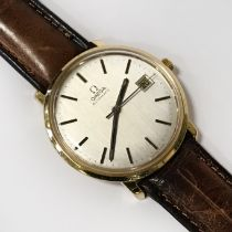 18CT GOLD GENTS AUTOMATIC WRISTWATCH