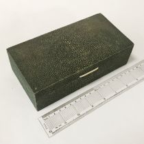 SHAGREEN BOX - 19CM