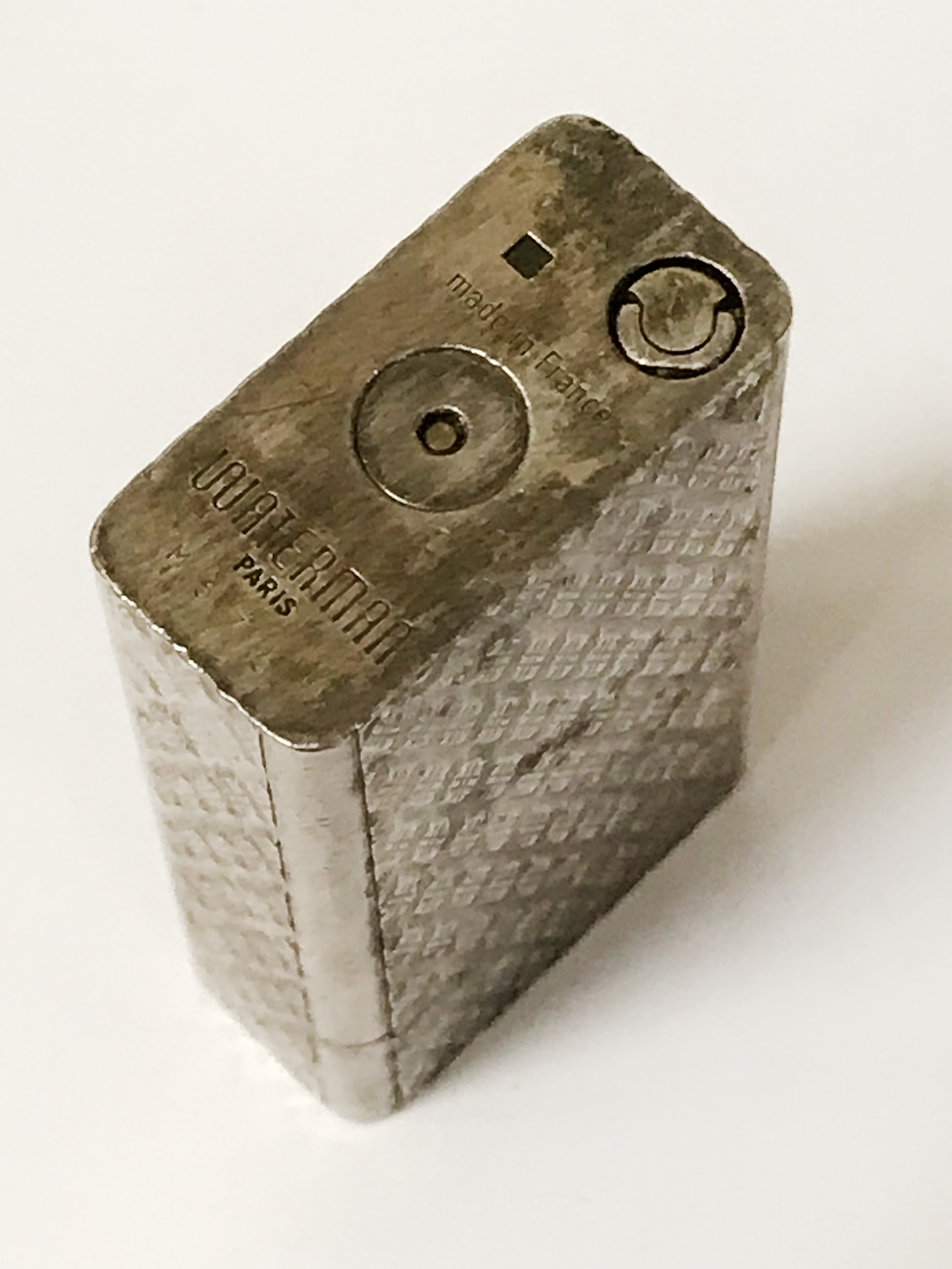 WATERMAN SILVER PLATED LIGHTER - Image 2 of 2