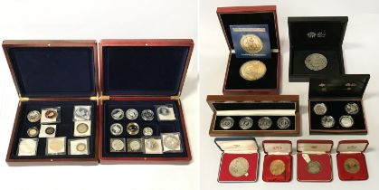 COIN COLLECTIONS INCL. SILVER SETS