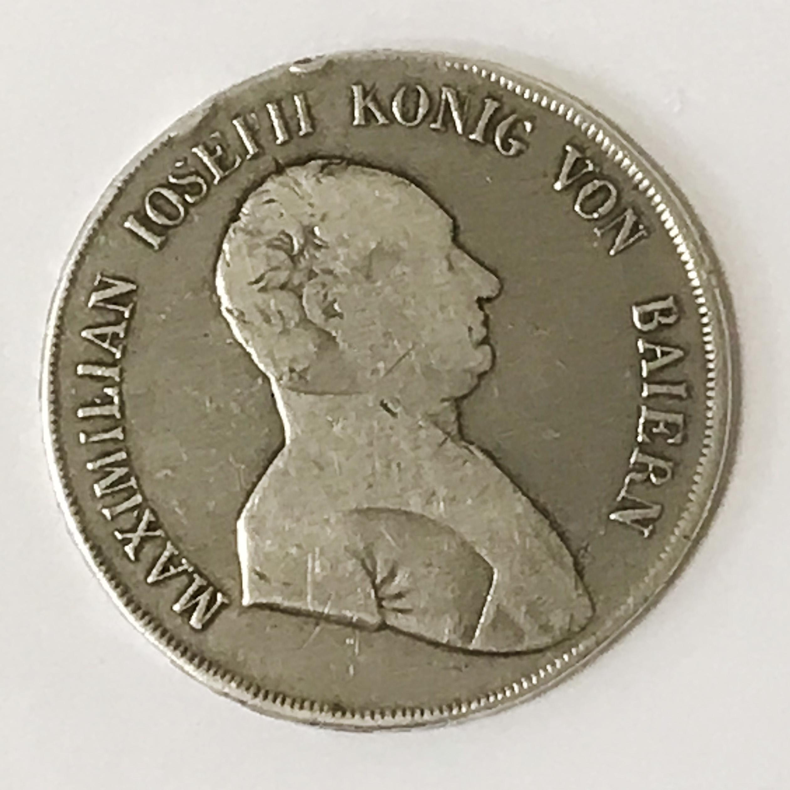 GERMAN SILVER COIN 1808