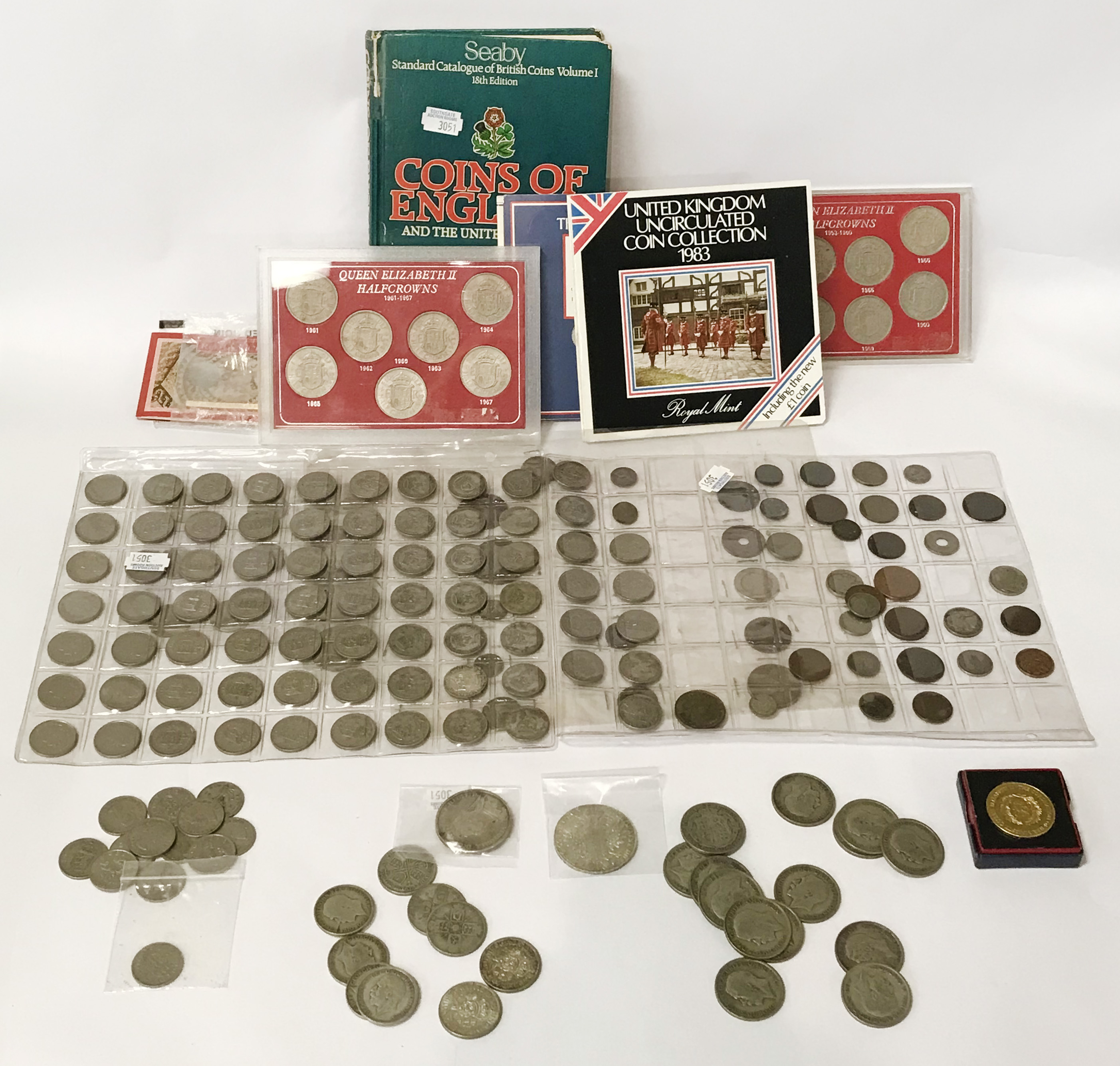 SELECTION OF VARIOUS COINS INCL. SILVER - Image 4 of 12