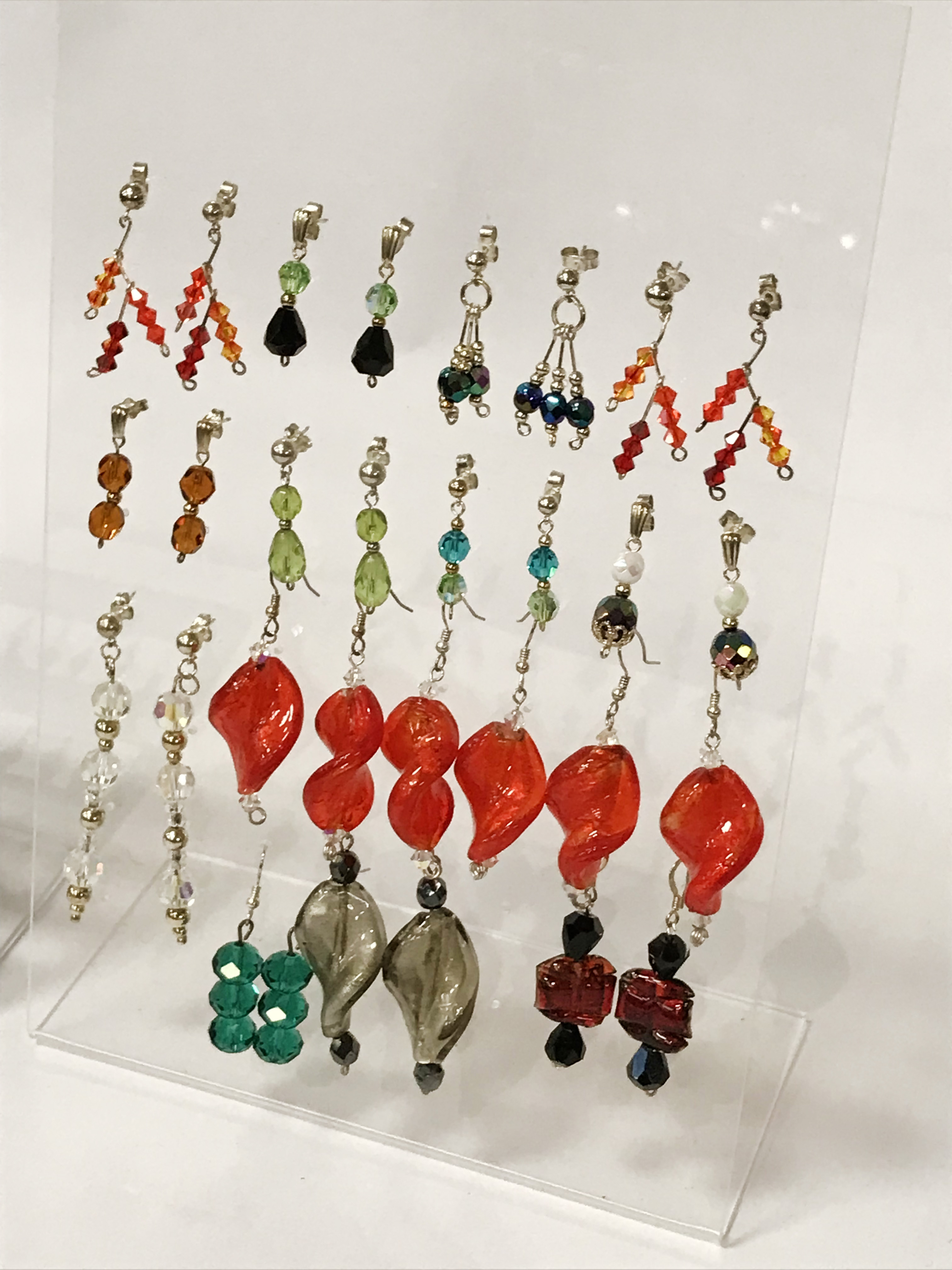 QTY OF SILVER EARRINGS - 26 PAIRS IN TOTAL - Image 2 of 3