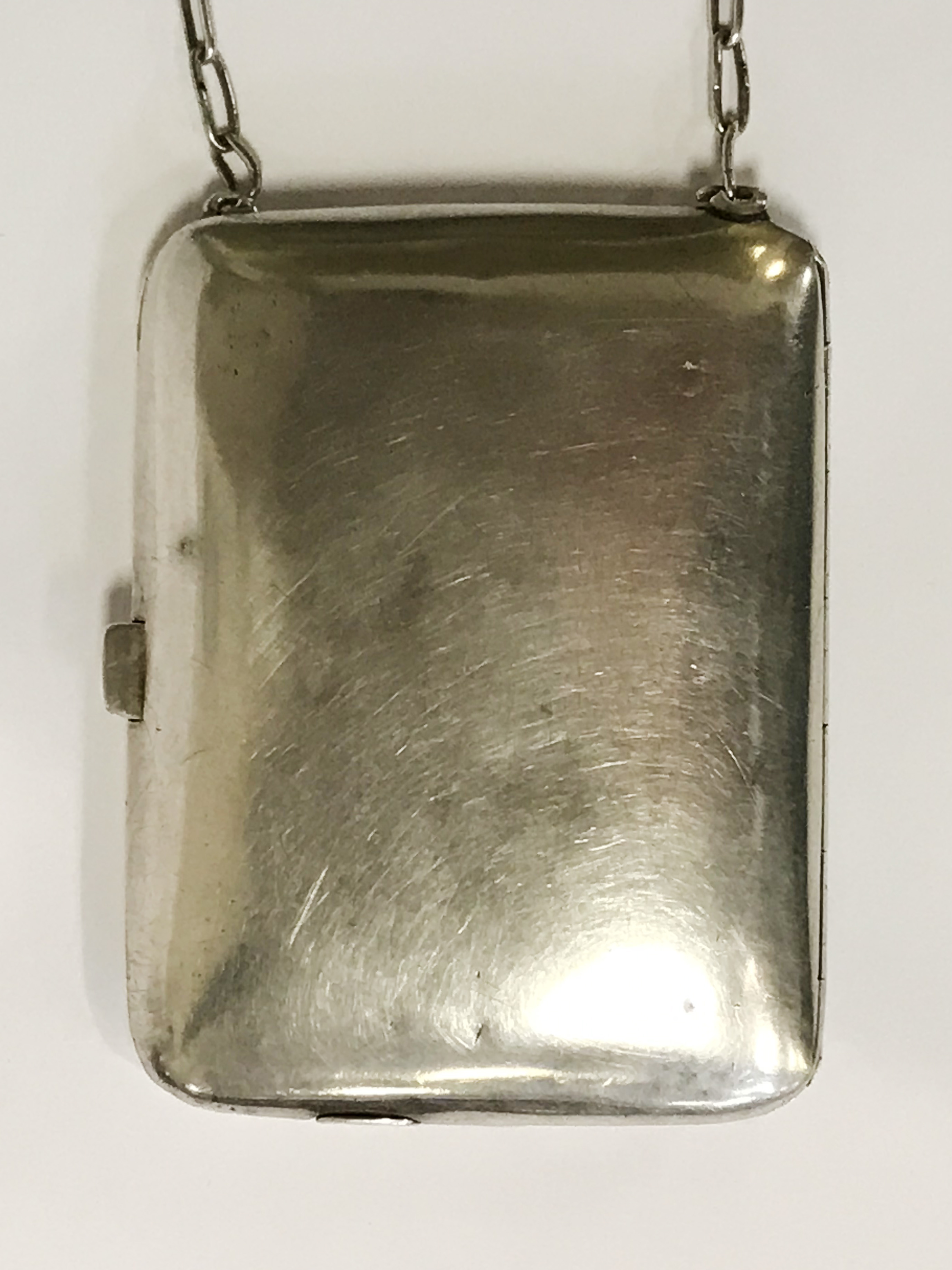 HM SILVER & GOLD INLAID COMPACT - 9CMS X 6.5CMS - Image 3 of 7