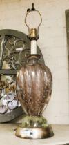 MURANO GLASS LAMP - 65CMS (H)