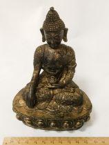 BRONZE BUDDHIST FIGURE - 14CMS