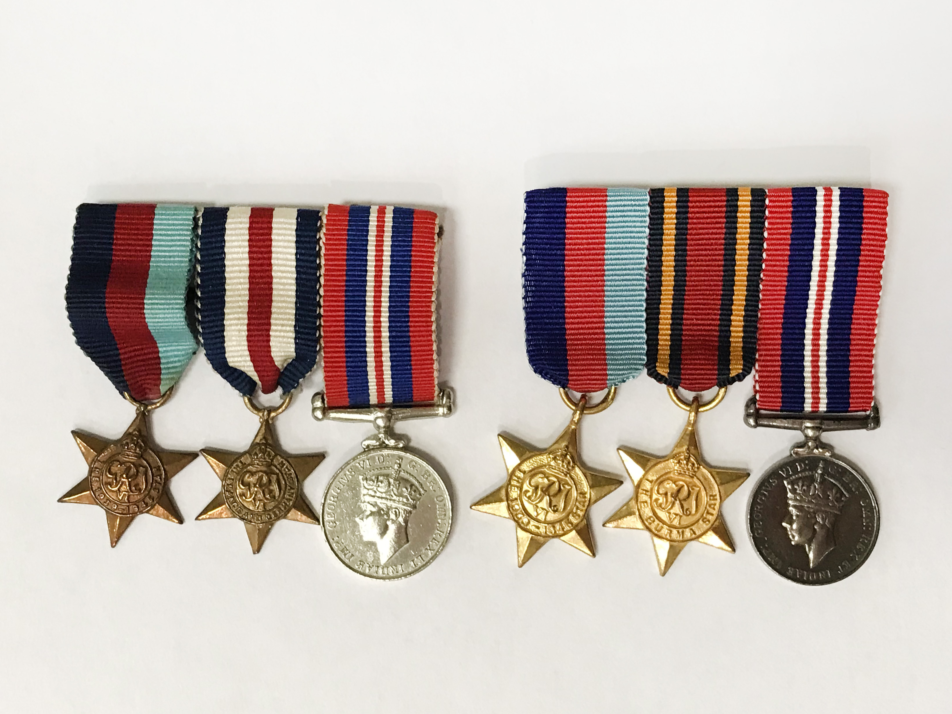 TWO SETS OF SERVICE MEDALS - Image 6 of 7