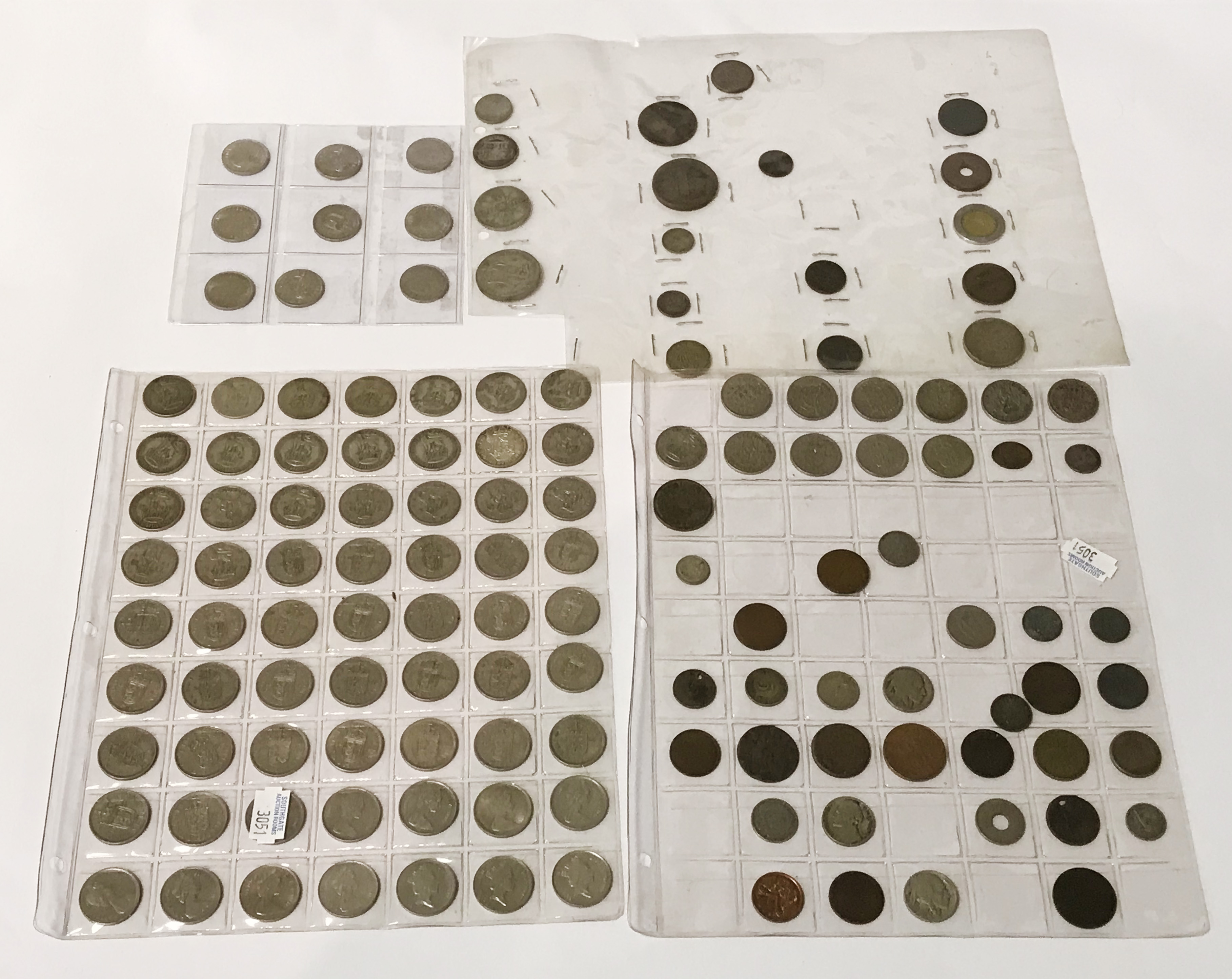 SELECTION OF VARIOUS COINS INCL. SILVER - Image 9 of 12