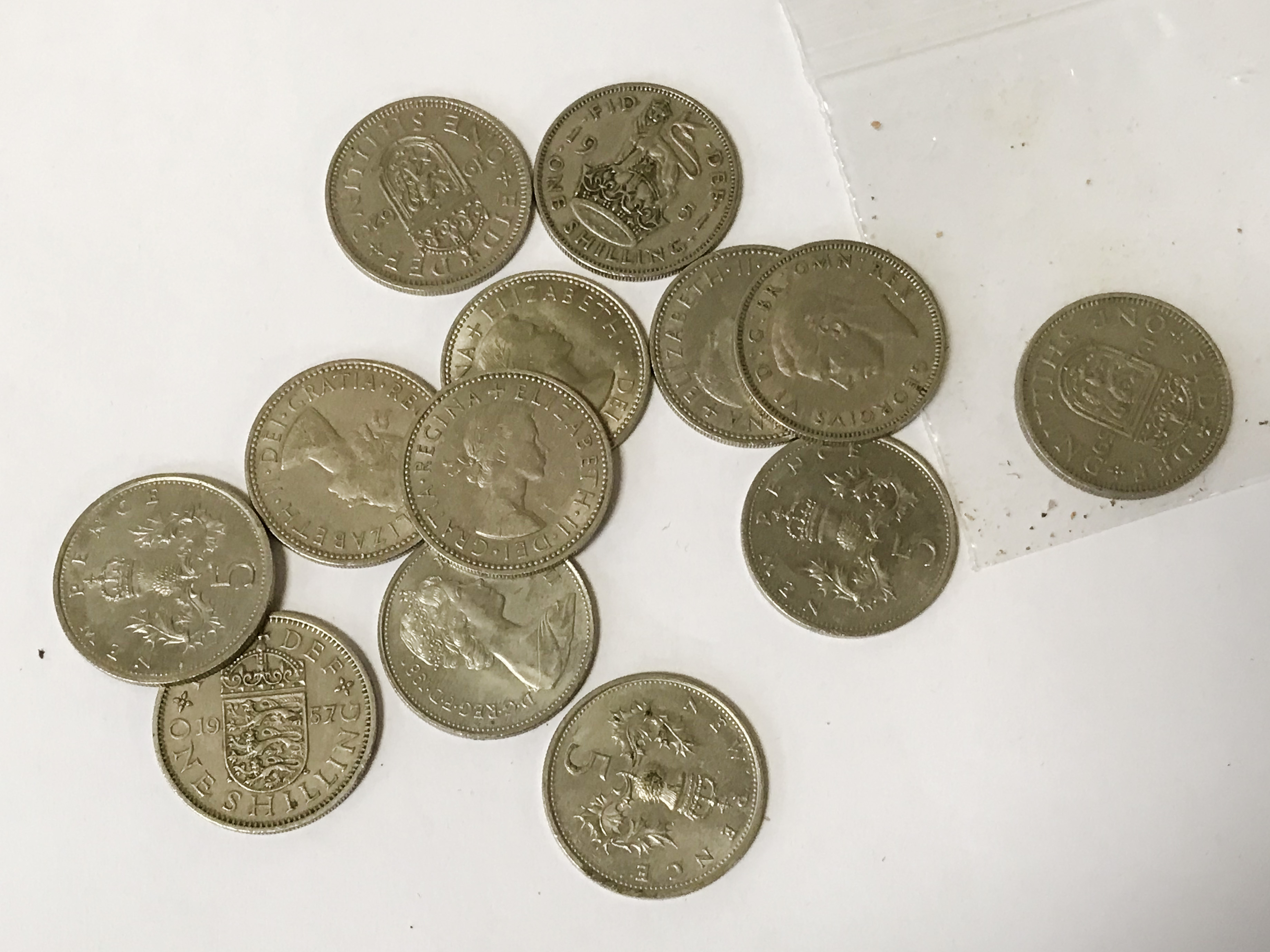 SELECTION OF VARIOUS COINS INCL. SILVER - Image 7 of 12