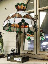 TIFFANY STYLE FIGURE LAMP - 60CMS
