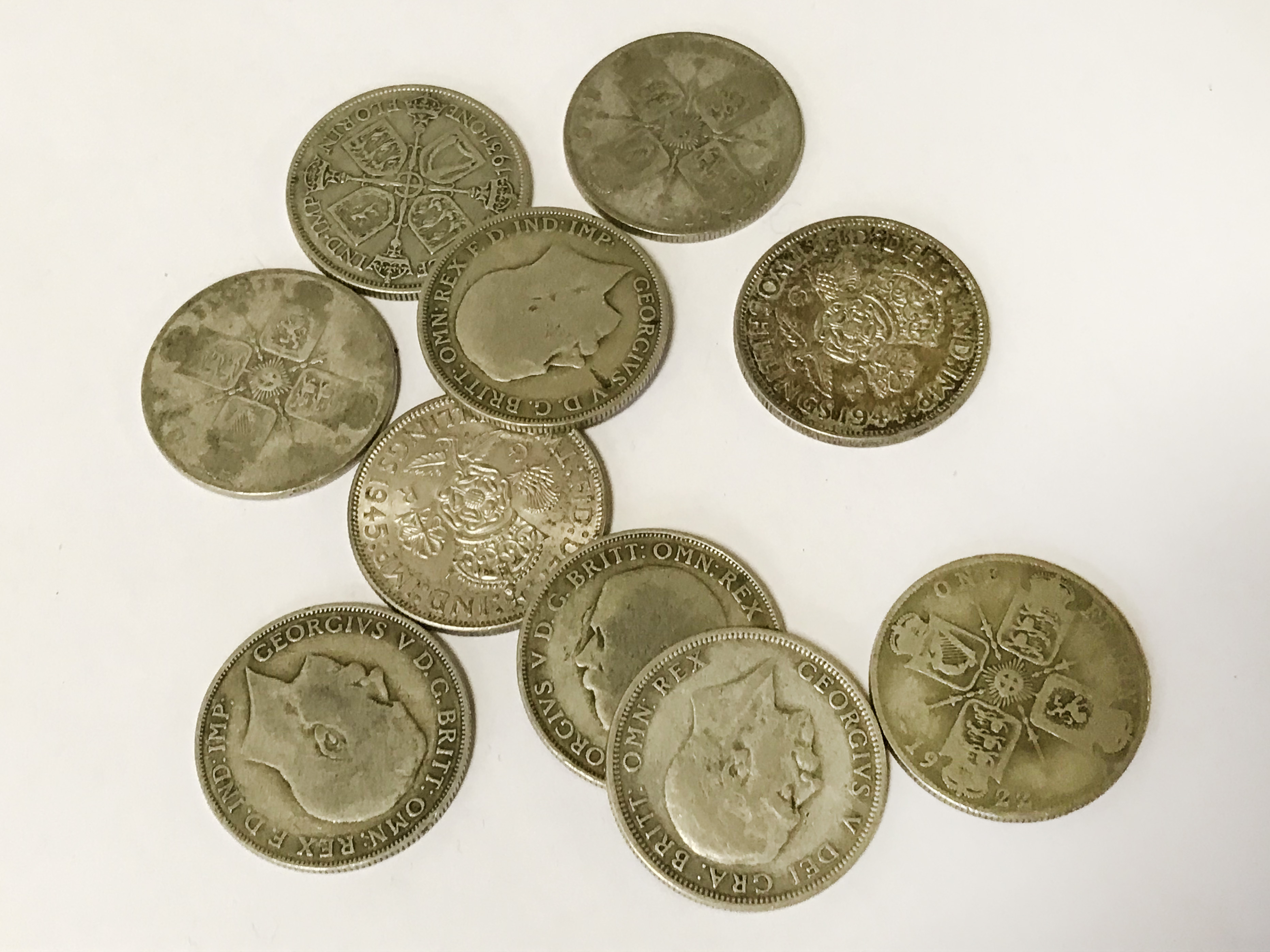 SELECTION OF VARIOUS COINS INCL. SILVER - Image 5 of 12