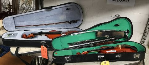 HALF SIZE & 1/4 SIZE VIOLIN AND MUSIC STAND