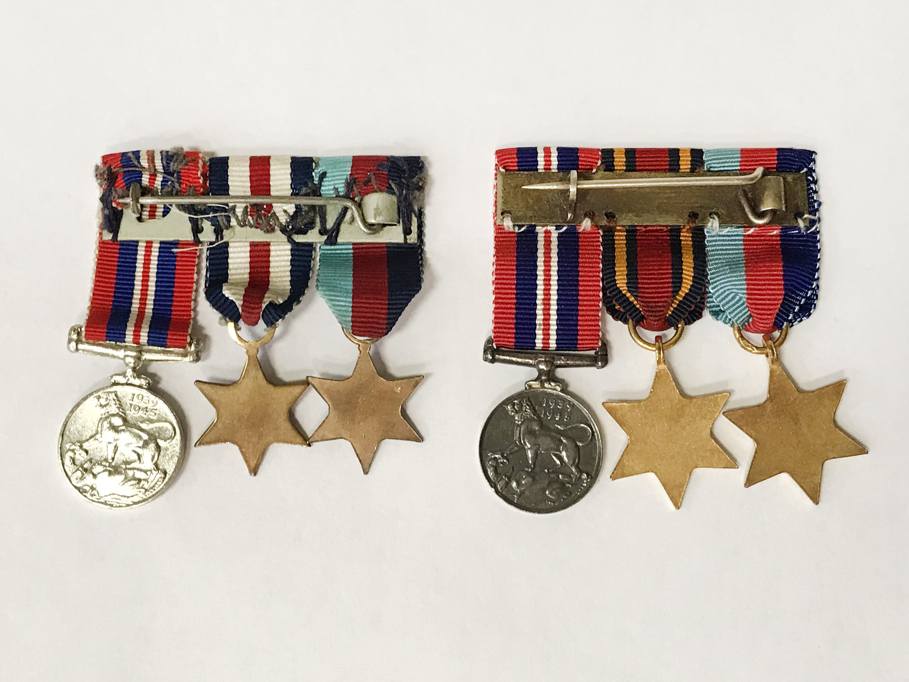 TWO SETS OF SERVICE MEDALS - Image 7 of 7