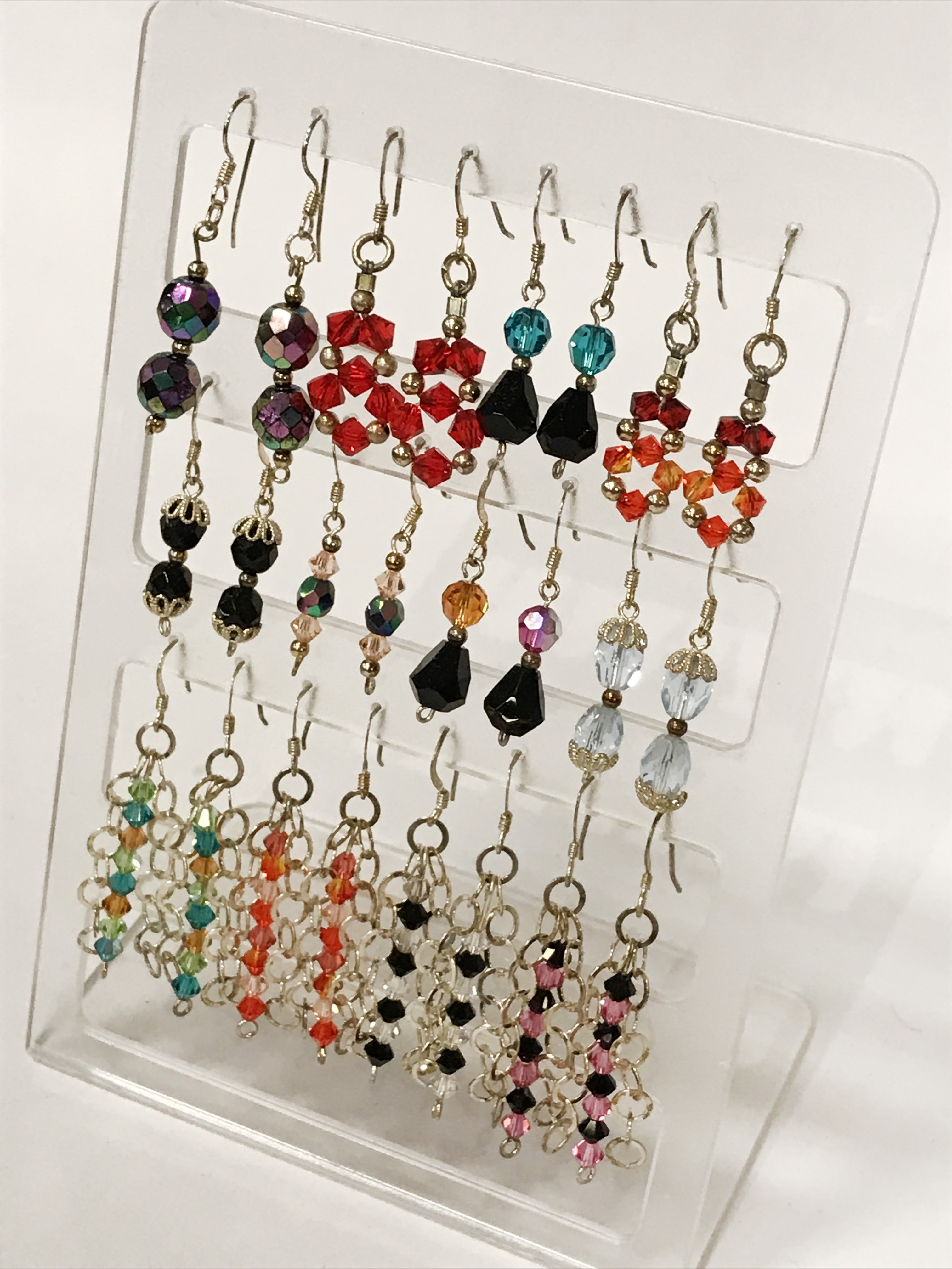 QTY OF SILVER EARRINGS - 26 PAIRS IN TOTAL - Image 3 of 3