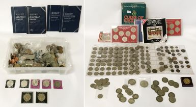 SELECTION OF VARIOUS COINS INCL. SILVER CONTENT