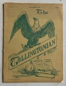 SELECTION OF THE TOLLINGTONIAN JOURNAL 1903 - 1906