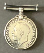 WW1 BRITISH WAR MEDAL 54-161661 PRIVATE H. BOURNE A.S.C.