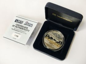 ROYAL AIRFORCE LTD EDITION SILVER COIN WITH COA