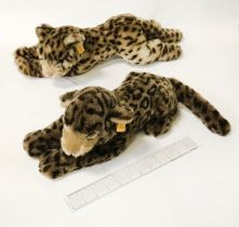 TWO STEIFF TIGER CUBS