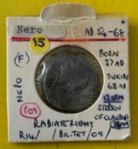 ANCIENT COIN NERO (B5)